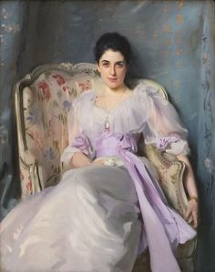 John Singer Sargent - Lady Agnew on Lochnaw (1892)