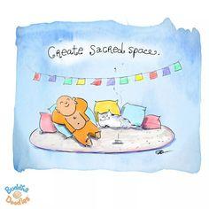 Crea un espacio sagrado.