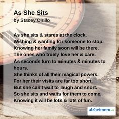 Poem As She Sits