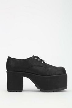 T.U.K. Cracked Suede Platform Oxford #urbanoutfitters