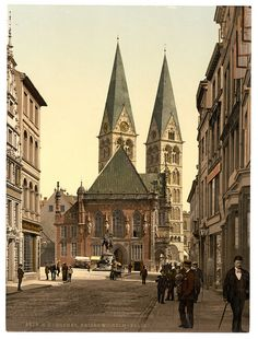 Emperor William's Place, Bremen, Germany-LCCN2002713646 | by Fæ