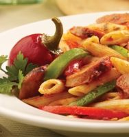 Sausage & Pepper Penne - The *ONLY* entree I order at East Side Mario's. Really delicious, and here is the recipe!