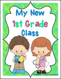Beginning of the Year - 1st Grade