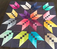 """""""Wow!! We love the many Binding Tool Star Quilts we've seen you all create! If you've tried this one, we'd love to see! #msqcshowandtell #Repost…"""""""