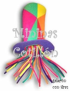 Sombreros Y Gorros De Goma Espuma A  60! Fiestas -   60 c9e74253263