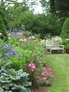 We must have been pretty convincing in our pleas for more photos of Barb May's Massachusetts garden yesterday, because she promptly emailed more! Here they are, and it just keeps getting better. In...