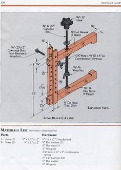 1490535aeb660d24d9da770912c3fdef.jpg 547×768 pixels.  Looks like a leg vise. Don't need two of the adjustment boards. Use one and mortise the beams. What a contraption.