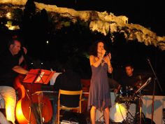 "The ""Wοnder-fall"" Quartet live...""jazz with a view at Akropolis"", at Ιωνικό Κέντρο of Plaka, Athens, GR."