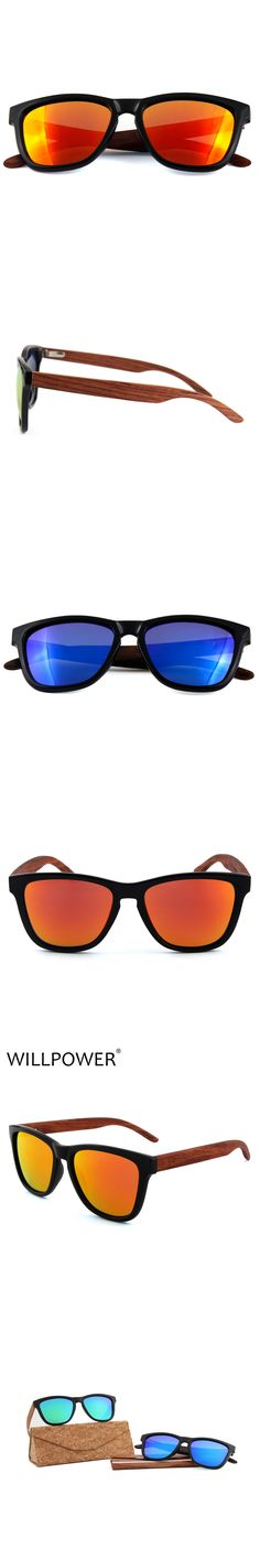 WILLPOWER polarized WOODEN Sunglasses Men bamboo Sun glasses Women Brand Designer Original Wood Glasses Oculos de sol masculino