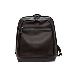 love this new black soft leather backpack with just enough compartments for organization. from MUSEUM OUTLETS  #blackleather  #leatherbackpack  #museumouetls