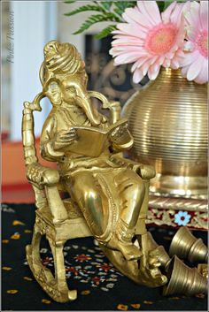 Antique Ganesha, Ethnic Indian Décor for festivals, Festive décor, Ganesh Chaturthi, Ganesh Chaturthi Décor ideas, Ganesha collection, Indian Festivals décor, Indian Inspired Decor