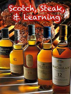 Scotch, Steak & Learning