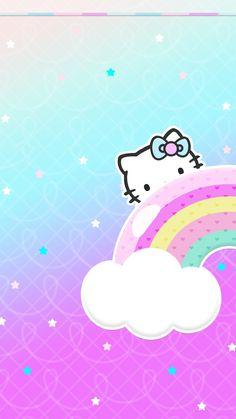 New Wallpaper Pastel Iphone Kawaii Hello Kitty Ideas Hello Kitty Backgrounds, Hello Kitty Wallpaper, Funny Iphone Wallpaper, New Wallpaper, Phone Wallpapers, Phone Backgrounds, Pusheen, Hello Kitty Pictures, Sanrio Characters
