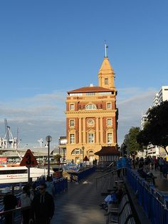 Auckland Ferry terminal, the place to go - for a trip To Waiheke & Great Barrier Islands!