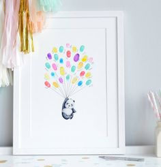 Are you interested in our baby shower fingerprint picture? With our personalised christening gift you need look no further.