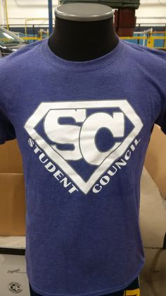 Student Council shirts printed by Inkspired Promo