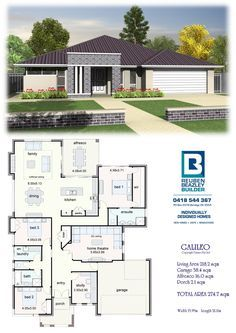 Affordable Quality Homes - Calileo New House Plans, Dream House Plans, Modern House Plans, Small House Plans, House Floor Plans, Steel Framing, African House, House Construction Plan, Home Design Floor Plans