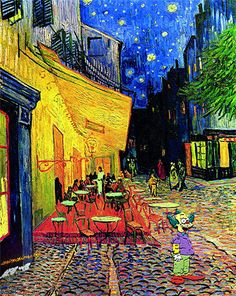 3b7d63bd5ac A serene night at all with the work of Van Gogh (terrace coffee) and