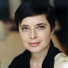 """Isabella Rosselini. """"She made her own fortune modeling, a career which the former scoliosis patient started at the relatively advanced age of 28, ultimately serving an unprecedented 14 years as the face of Lancome. In the 1990s — a decade which began with her being dumped by David Lynch and ended with her launching a company which she referred to as """"a secret feminist plot"""" against the beauty industry — Isabella Rossellini took her legacy into her own hands."""" (""""You Must Remember This""""…"""