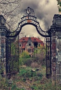 Forgotten Palace In Poland
