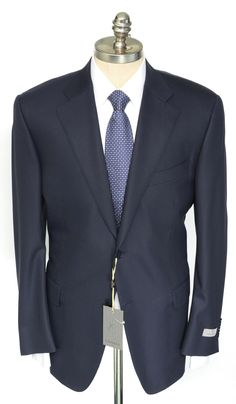 Soft silk & wool keep you relaxed & light in this navy Canali striped suit.  |  Get in there! http://www.frieschskys.com/suits  |  #frieschskys #mensfashion #fashion #mensstyle #style #moda #menswear #dapper #stylish #MadeInItaly #Italy #couture #highfashion #designer #shopping