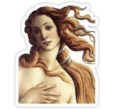 High quality Classical Art gifts and merchandise. Inspired designs on t-shirts, posters, stickers, home decor, and more by independent artists and designers from around the world. Bubble Stickers, Phone Stickers, Cool Stickers, Printable Stickers, Spongebob Birthday Party, The Birth Of Venus, Aesthetic Stickers, Classical Art, Transparent Stickers
