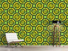 Design #Tapete Kiwi Tropical