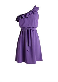 dELiAs > One-shoulder Ruffle Dress > dresses > view all dresses