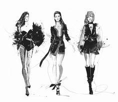 150 отметок «Нравится», 2 комментариев — VeronikaTaletskaya (@veronika_taletskaya) в Instagram: «Fashion мафия❤ Inspiring @alexandrevauthier . . . #illustration #illustrator #artgallery…»