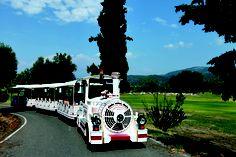 Train at Porto Carras Grand Resort
