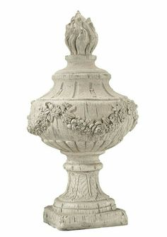 Made of wood. This Guildmaster Rouen Finial In Antique White is made of wood. It features a Antique White finish. French Cottage, Shabby Chic Cottage, Shabby Chic Style, Cottage Style, French Country, Country Chic, White Side Tables, Metal Birds, Hand Molding