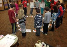 Circle Up Rhythm Activity - easy to prepare and modify - much more active than…