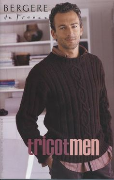 BDF-tricotmen - lets knit - Λευκώματα Iστού Picasa Vogue Knitting, Knitting Books, Lace Knitting, Knit Crochet, Knitting Magazine, Crochet Magazine, Cable Sweater, Men Sweater, Handgestrickte Pullover