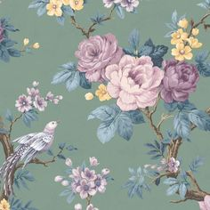 Animals & Birds Wallpaper - Flamingos, Pheasant & More - W&M – Woodchip & Magnolia Grape Wallpaper, Heathers Wallpaper, Pink Neon Wallpaper, Silver Grey Wallpaper, Blush Wallpaper, Cream Wallpaper, Flowery Wallpaper, Flower Background Wallpaper, Sunset Wallpaper