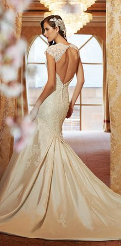 :: OLD HOLLYWOOD STYLE WEDDING DRESS ::Sophia Tolli Bridal Collection for Spring 2014 #glam #wedding #thedress #hollywood