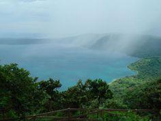 stunning view from catarina of the laguna de apoyo