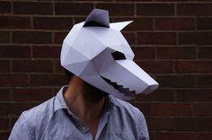 geometric paper masks - Google Search