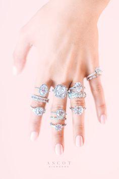 Love for every style... Engagement Rings & Wedding Rings by Ascot Diamonds @kir2ben @postskriptco