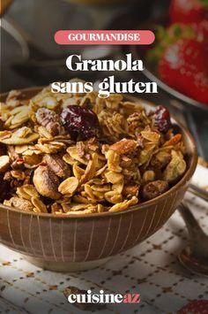 Une recette de granola spécialement pour les intolérants au gluten. #recette#cuisine #granola #petitdejeuner #sansgluten #intolerantgluten