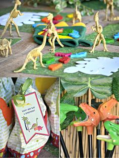 An AMAZING Dinosaur Adventure Birthday Party! by Birds Party