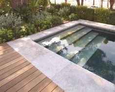 Stone swimming pool coping MARGELLES AUBEROCHE