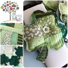 Lots of neat ideas in 'the sewing loft' (don't you love the name of her business?)