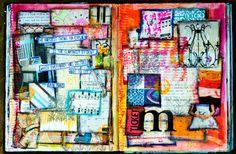 Art Journaling 101 for Kids, Teens + Beginners - abstract - create explore paint