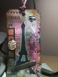 Tim Holtz 12 Tags - May
