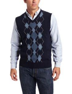 Geoffrey Beene Men's Soft Acrylic Argyle Vest $19.94 - $29.99