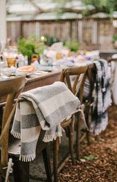 A Boho Backyard Friendsgiving - Inspired by This