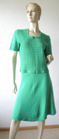 Kleider - zweiteiliges Kleid - Handarbeit - ein Designerstück von Na-nett-e bei DaWanda
