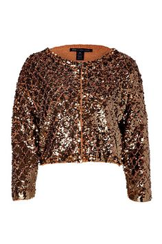 marc jacobs cropped sequin jacket
