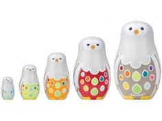 Owl Family Nesting Dolls