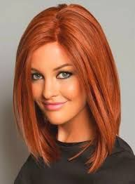 Image result for mid length hairstyles for round faces